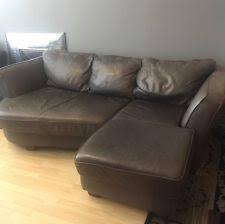 Dove Grey Leather Sofa Gray Leather Sofa Ebay