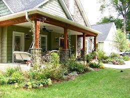 pictures of front porches on ranch homes