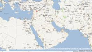 Where Is Syria On The World Map by Syria Map