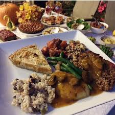 the gluten free vegan thanksgiving menu