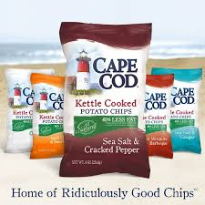 cape cod lightens up its sea salt u0026 cracked pepper kettle chips