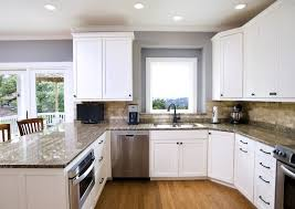 Backsplash With White Kitchen Cabinets Traditional White With Backsplash Kitchen Traditional