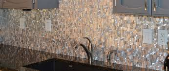 metallic kitchen backsplash articles