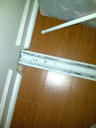 Installing Sliding Mirror Closet Doors Closet Installing Sliding Closet Doors Sliding Closet Door Track