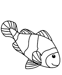color pages of fish loving printable clip art library