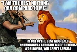 The Lion King Meme - kanye west lion king imgflip