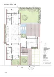 ground floor plan gallery of brick house architecture paradigm 19