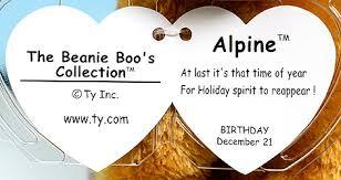 alpine ty beanie boos