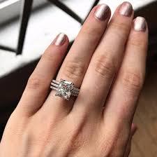 wedding engagements rings images Moissanite engagement rings popsugar love sex j