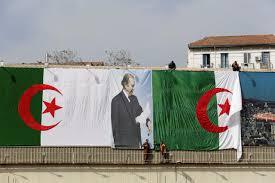 Algerian Flag Algerians To Elect New Parliament Amid Apathy President U0027s Absence