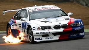 bmw m3 gtr e46 bmw m3 e46 gtr shoting flames loud sound high speed stunts crashes