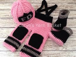 Firefighter Station Boots Canada by Original Design Baby Firefighter Fireman Crochet Hat