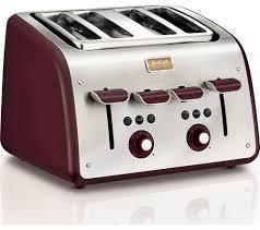 8 Slot Toaster Buy Tefal Maison Tt7705uk 4 Slice Toaster Stainless Steel