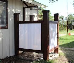 building an outdoor shower wilker do u0027s
