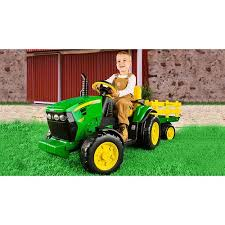 Good Condition Craigslist Used Farm Tractors Peg Perego John Deere Ground Force 12 Volt Tractor Ride On