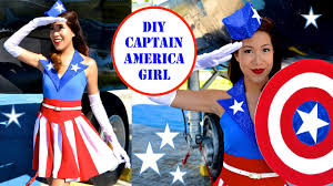 halloween costumes captain america captain america costume uso no sew youtube
