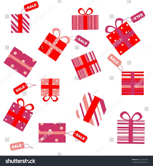 gifts sale tags stock vector 173157107