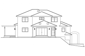 baby nursery home plans for sloped lots southwest house plans