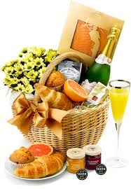 breakfast baskets buck s fizz breakfast gift gift hers and gift