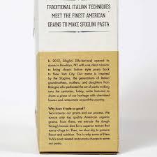 sfoglini organic durum semolina pasta trumpets 16oz