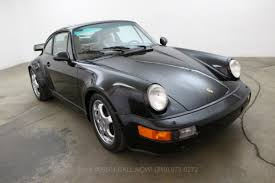 classic porsche black 1991 porsche 964 turbo beverly hills car club
