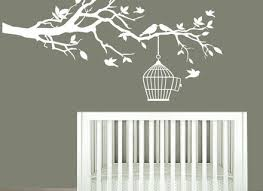White Tree Wall Decal Nursery 10 White Tree Decals For Walls Nursery Wall Decals White Tree