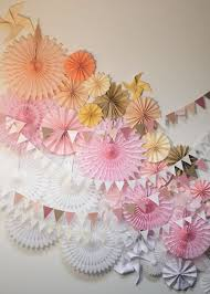 paper fan backdrop how to create a party backdrop the party fetti