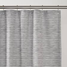 painterly stripe shower curtain schoolhouse electric