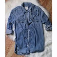 women u0027s american eagle outfitters denim shirt on poshmark