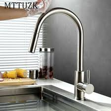 kitchen touch faucet mttuzk smart touch sensor kitchen faucet touch faucets water