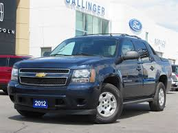 used 2012 chevrolet avalanche for sale milton on