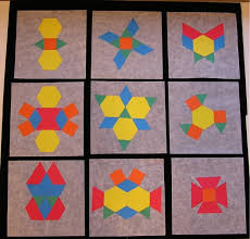 hands on math positive negative symmetry art with instructions