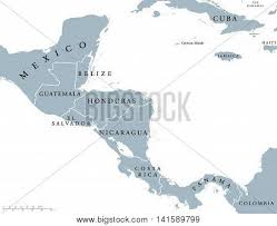 map of mexico south america central america countries vector photo bigstock