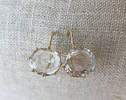 white topaz earrings collection asia gem connection
