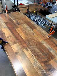diy laminate flooring table top desk simplified building