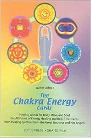 chakra energy cards the book and card set walter luebeck