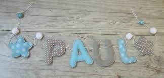 lettre decorative pour chambre bébé guirlande prenom chambre bebe chaios com