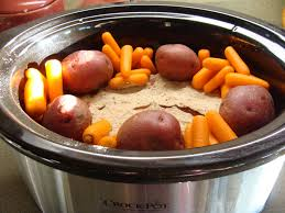 kristi u0027s recipe box crockpot pot roast with veggies