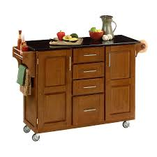 furniture brown lowes kitchen island with black countertop and