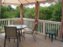 Homemade Deck Awning Relaxing Under An Awning Stationary Awnings Deck Awnings