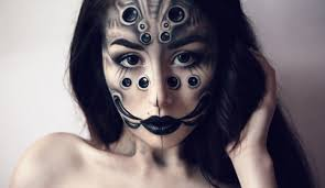 Creepy Makeup For Halloween by Creepy Spider Halloween Makeup Tutorial By Margo Youtube