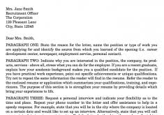 stylish cover letter latex