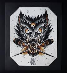 wolf in pain tattoo sketch best tattoo designs