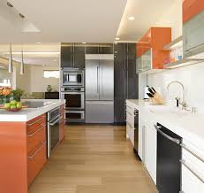 contemporary oven mitts with miele induction hob kitchen