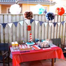 interior design new nautical themed baby shower decorations home