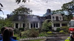 Chapaqqua Fully Involved House Fire Breaks Out In Chappaqua Chappaqua