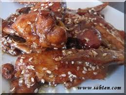 cuisine au miel ailerons de poulet au miel et au soja cuisine libanaise par sahten