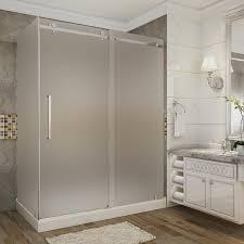 aston moselle 60 in x 35 in x 77 5 in frameless sliding shower