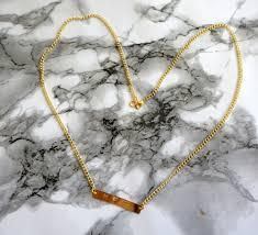 Hand Stamped Necklace Hand Stamped Necklace U2014 Eternally Nomadic