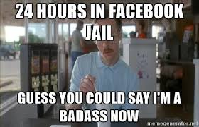 Jail Meme - facebook jail pics facebook marketing tips pinterest